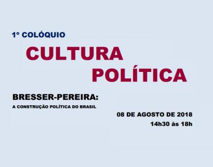 1º Colóquio Cultura Política